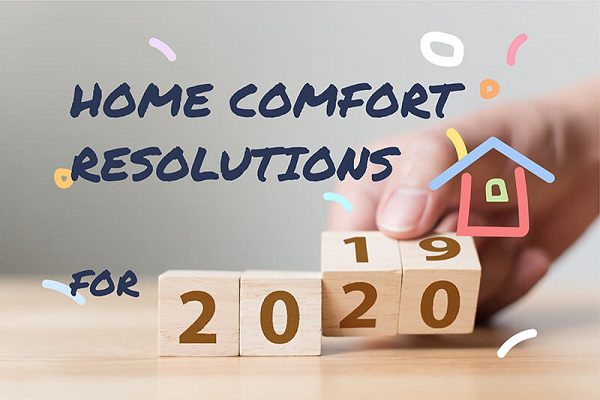 home comfort resolutions for 2020