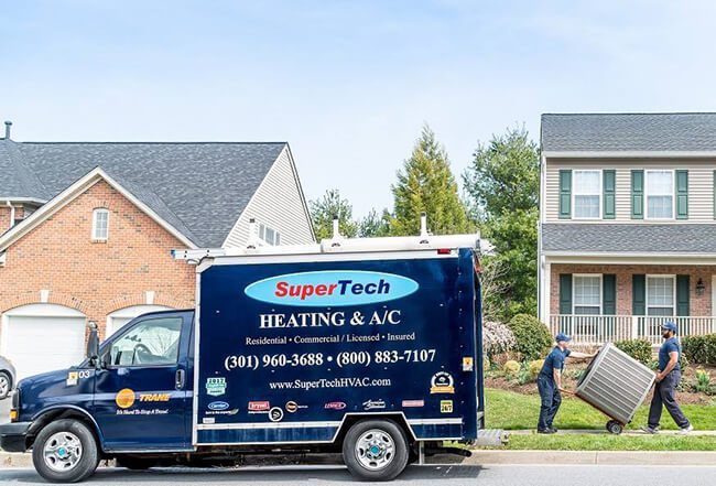 Call SuperTech HVAC Services for Your Heating Needs in MD